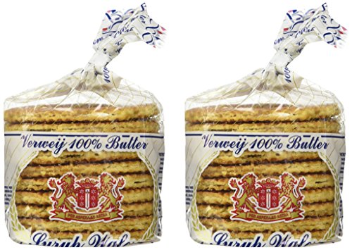 Stroopwafels - 20 Dutch Verweij 100% Butter Stroopwafels In Frustration Free Packaging