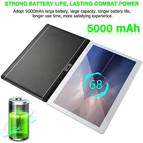 10 inch Android Tablet PC, Octa-Core Processor, 5G-WiFi Google Tablet, 4GB RAM, 64GB ROM, HD Touchscreen Built-in Bluetooth WiFi GPS M5 (Silver) 51RWdaZj7AL