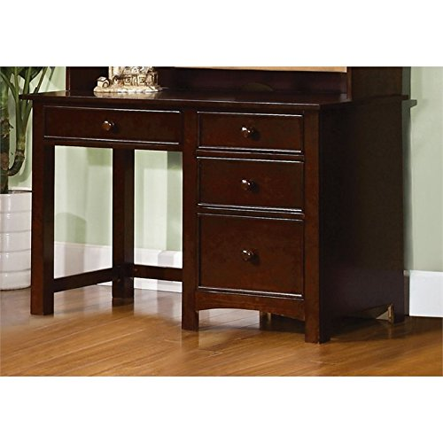 Furniture of America Ruthie Modern Kids Desk in Espresso by Furniture of America