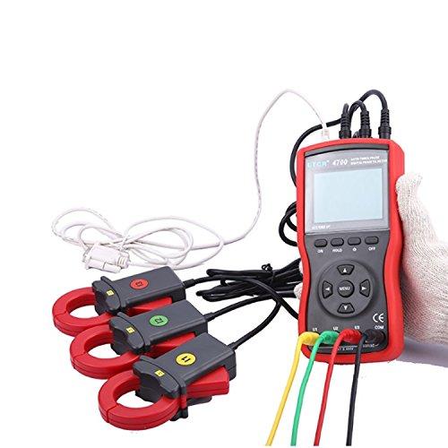 Digital meter- Three Phase Digital Phase Volt-Ampere Clamp Meter measure AC voltage And AC Current ETCR4700, Amp Ohm Volt Meter: Amazon.co.uk: DIY & Tools