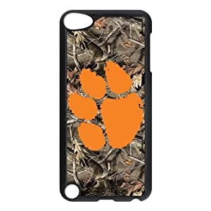 Custom Clemson Tigers Back Cover Case for ipod Touch 5 JNIPOD5-006