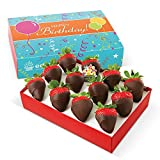 Edible Arrangements Happy Birthday Chocolate Dipped Strawberries Box