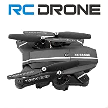 8807w Foldable RC Drone 2MP Camera Remote Control Quadcopter Six-Axis Gyroscope Altitude Hold 2 batteries One-key Return