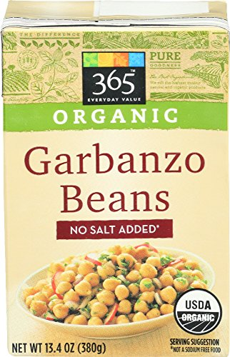 Chic Pea - 365 Everyday Value, Organic Garbanzo Beans, No Salt Added, 13.4 oz