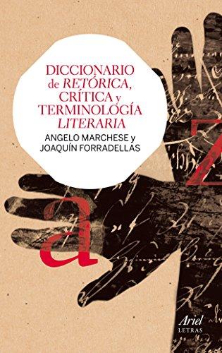 Descargar Libro Diccionario De Retórica, Crítica Y Terminología Literaria Joaquín Forradellas Figueras