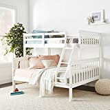 Donco Kids Mission Bunk Bed Twin/Full White