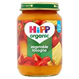 HiPP Organic - Baby Food 7 Months - Vegetable Lasagne - 190g