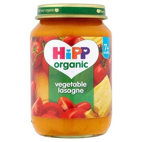 HiPP Organic - Baby Food 7 Months - Vegetable Lasagne - 190g GB6410.39