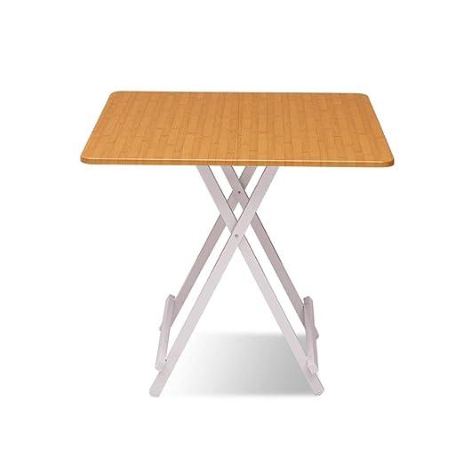 BFQY Mesa Plegable, Simple para el hogar, Mesa pequeña portátil ...