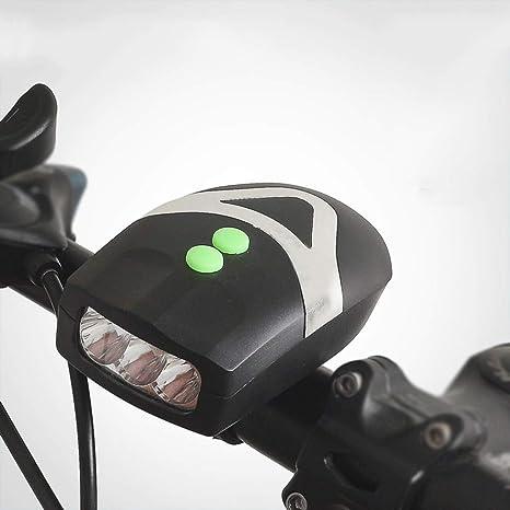 Hwenli LED Bicicleta Luz Delantera, 1200 Lúmenes Impermeable Luz ...