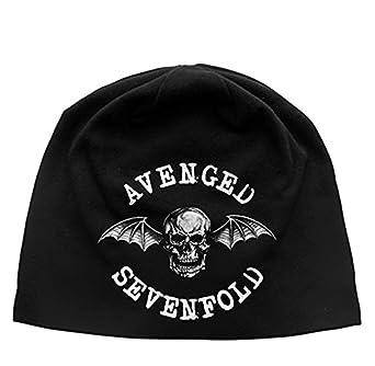 f3aeca1eab3 AVENGED SEVENFOLD DEATH BAT beanie hat   Mütze  Amazon.de  Bekleidung