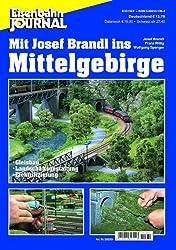 Mit Josef Brandl ins Mittelgebirge - Gleisbau, Landschaftsgestaltung, Elektrifizierung - Eisenbahn Journal Anlagenbau & Planung 1-2003