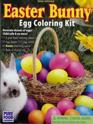 Amazon.com: Easter Bunny Egg Coloring Kit: Toys & Games