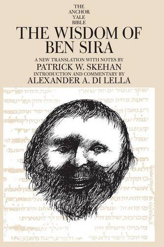 The Wisdom of Ben Sira (The Anchor Yale Bible Commentaries) by Patrick W. Skehan (1995-03-01)