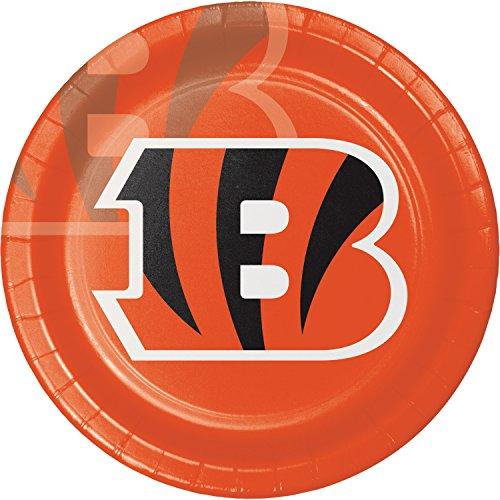 Cincinnati Bengals Paper Plates, 24 -