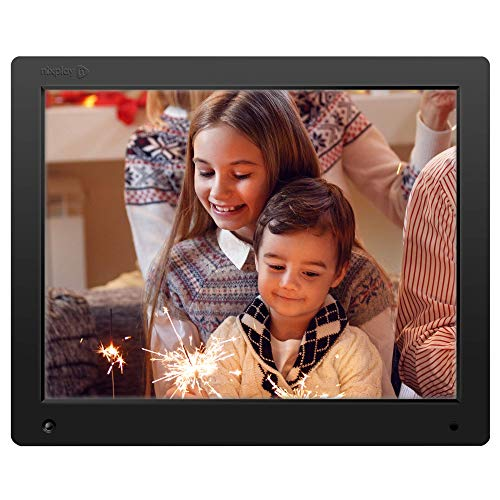 Nixplay Original 15 inch WiFi Cloud Digital Photo Frame. iPhone & Android App, Email, Facebook, Dropbox, Instagram, Picasa (W15A) from nixplay