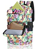 College Backpack, Winblo School Backpack Sports Travel Daypack Laptop Backpack 15.6