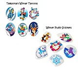 package stickers - Fun Children's Winter Stickers & Temporary Tattoos Holiday Package