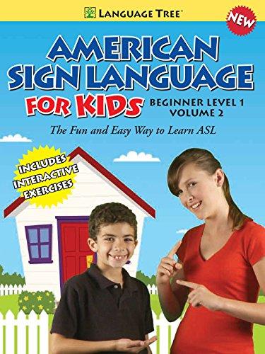 American Sign Language - Volume 2