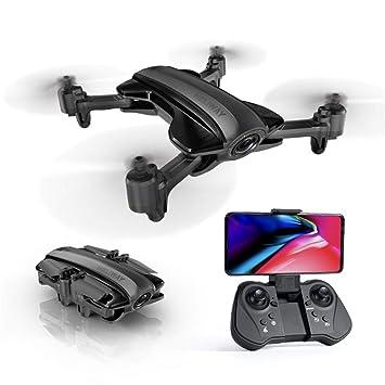 WANGKM Plegado GPS Drone Anti-Viento Vuelo de Retorno Automático ...