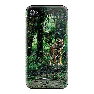 AlikonAdama Fashion Protective Lion Cases Covers For Iphone 6plus