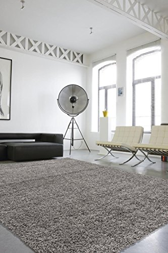 Sweet Home Stores Cozy Shag Collection Solid Shag Rug Contemporary Living & Bedroom Soft Shaggy Area Rug,  3'3