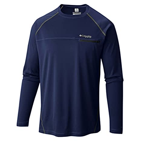 0bd2e71d743 Image Unavailable. Image not available for. Color: Columbia Cool Catch Tech  Zero Long Sleeve Golf Shirt