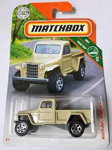 - Matchbox 2018 MBX Road Trip 34/35 - Willys Jeep Pickup 4x4
