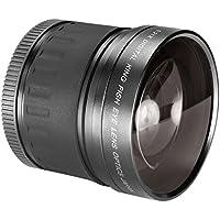 Neewer 58MM 0.21X HD Optics Super Wide Professional AF Fisheye Lens for Canon EOS 80D 70D 60D 60Da 50D 40D 30D 7D 6D 5D 5Ds 1Ds Rebel T6s T6i T5i T5 T4i T3i T3 T2i T1i XS XSi XTi SL1 DSLR Cameras