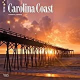 Carolina Coast 2018 Monthly Square Wall Calendar