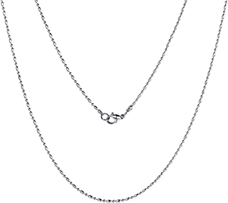 collier femme argent 55 cm