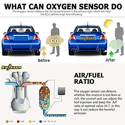 Kwiksen Oxygen O2 Sensor 234-4137 Downstream Replacement for Lexus ES300 3.0L 1997-2001: Automotive
