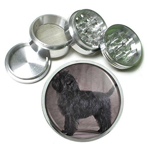 (Dog Affenpinscher 02 4Pc Aluminum Grinder)