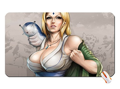 Blondes Animals Cleavage Tsunade Long Hair Naruto Shippuden Brown
