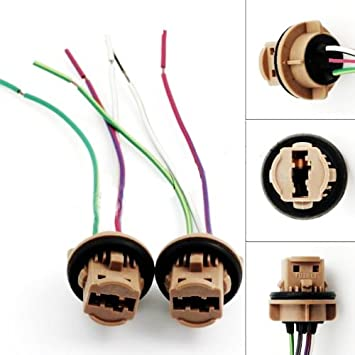 51RWmOsWW9L._SY355_ amazon com ijdmtoy 7440 7443 wiring harness sockets for led bulbs Wiring Harness Diagram at soozxer.org