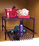 Under Cabinet Storage Racks (Purple)