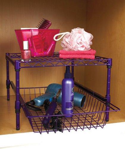 Under Cabinet Storage Racks (Purple)