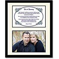 Fifth Anniversary Gift for Wife or Husband Our 5th Anniversary Poem in Matted Frame - Add Photo