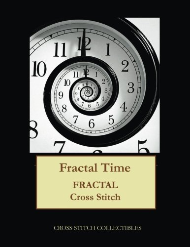 Fractal Time: Fractal cross stitch pattern