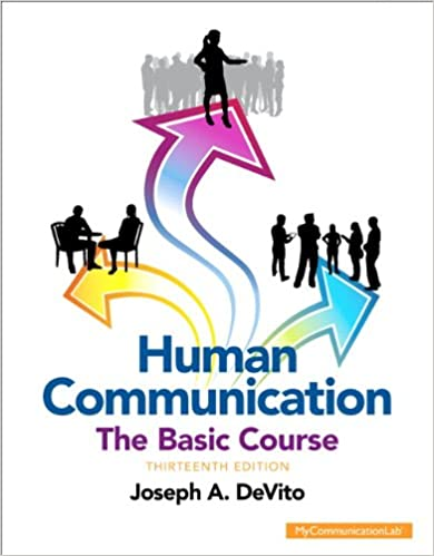 Amazon human communication the basic course unbound 13th amazon human communication the basic course unbound 13th edition 9780205944866 joseph a devito books fandeluxe Choice Image