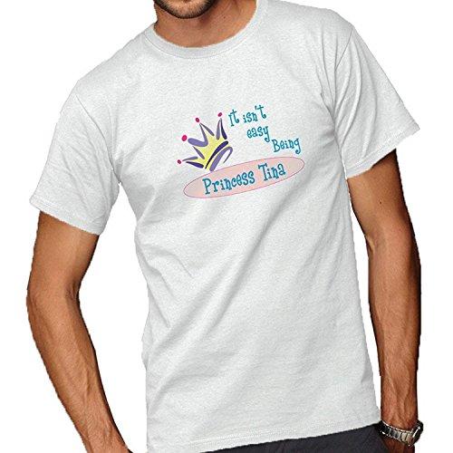 (It Isn't Easy Being Princess Tina Adult Short Sleeve T-Shirt)