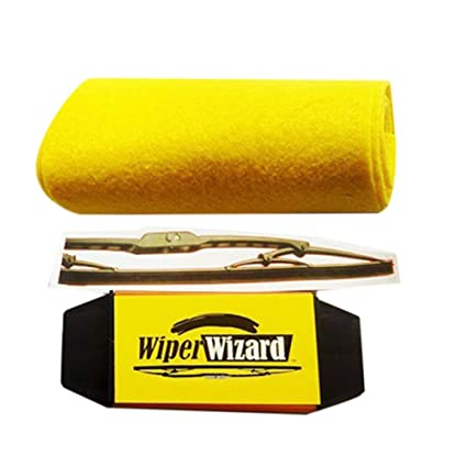 Oyamihin Cepillo de Limpieza de Limpiaparabrisas Car Van Wizard Wiper Tool Limpiador de Limpiaparabrisas Limpiador de