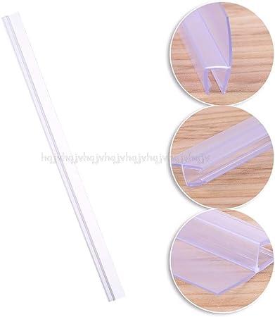 XSYYQYLL Sello Mampara de Ducha de PVC Sellado de Puerta Forro de Tira Tapón de Agua Baño Tira de Sello de Vidrio Recambio: Amazon.es: Hogar