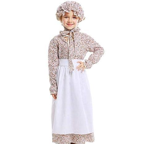 QWE Disfraz de Halloween para niños Lobo Abuela Disfraces de ...