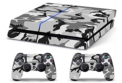 Camouflage Snow Limited Edition Decal Cover Playstation 4 Skin Ps4 Slim Faceplates, Decals & Stickers Video Game Accessories