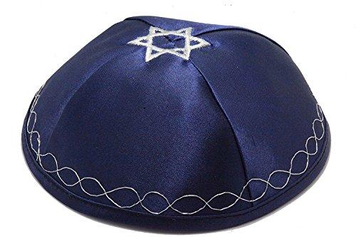 Kippah-with-Flag-of-Israel-Star-of-David-on-Top