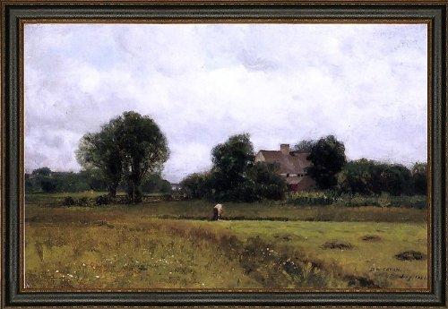 Art Oyster Dwight W Tryon Glastonbury Meadows - 18.05