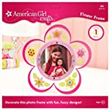 American Girl Crafts Frame Kit, Flocked Flower