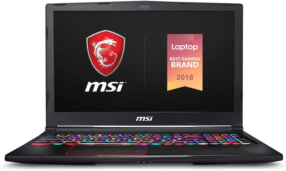 "MSI GE63 Raider RGB-499 15.6"" Gaming Laptop, 144Hz Display, Intel Core i7-9750H, NVIDIA GeForce RTX2080, 32GB, 512GB NVMe SSD"
