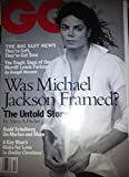 img - for GQ Magazine (Was Michael Jackson Framed? The Untold Story, Vol. 64) book / textbook / text book